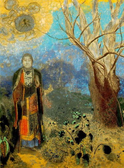 Odilon Redon, Bouddha