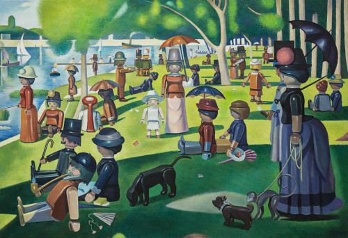En Playmobil, par Pierre-Adrien Sollier